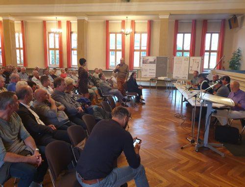 Bürgergespräch zum Rathausentwurf