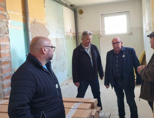 Pro Lauchhammer e. V. besucht Ortsteilzentrum in Kleinleipisch